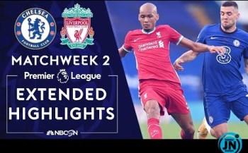 [Highlights] Chelsea Vs Liverpool - Premier League Highlights